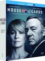House of Cards : intégrale des saisons 1 à 5 (blu-ray)