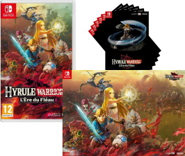 Hyrule Warriors : L'ère du fléau (Switch) + 6 cartes postales et poster offerts
