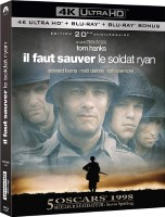 Il faut sauver le soldat Ryan édition 20e anniversaire (blu-ray 4K)