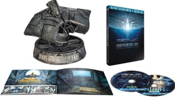 Independence Day édition collector Attacker (blu-ray)
