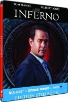 Inferno édition steelbook (blu-ray)
