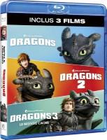 "Intégrale ""Dragons"" (blu-ray)"