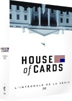 House of Cards : intégrale (blu-ray)