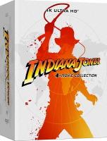Intégrale Indiana Jones édition steelbook (blu-ray 4K)
