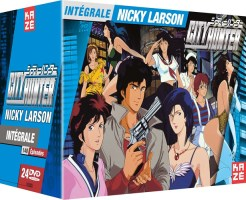 "Intégrale non censurée ""City Hunter"" (Nicky Larson) (DVD)"
