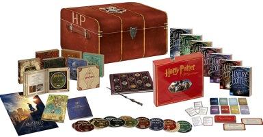 Intégrale Harry Potter édition prestige (blu-ray, DVD)