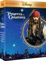 "Intégrale ""Pirates des Caraïbes"" (blu-ray)"