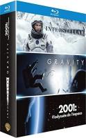 Coffret Interstellar + Gravity + 2001 : l'odyssée de l'espace (blu-ray)