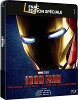 Trilogie Iron Man édition steelbook (blu-ray)