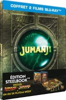 Jumanji édition steelbook (blu-ray)