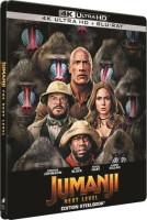 Jumanji: Next Level édition steelbook (blu-ray 4K)