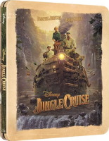 Jungle Cruise édition steelbook (blu-ray 4K)