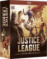 Coffret DC Comics : Justice League - 5 longs métrages (blu-ray)