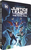 Justice League vs The Fatal Five édition steelbook (blu-ray)