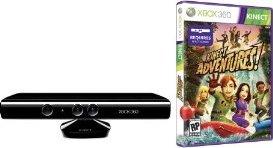 Kinect + Kinect Adventures (xbox 360)