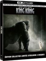King Kong édition steelbook (blu-ray 4K)