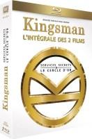 Kingsman : l'intégrale des 2 films (blu-ray)