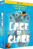 L'âge de glace : l'intégrale des 5 films (blu-ray)