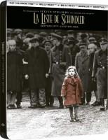 La Liste de Schindler édition steelbook (blu-ray 4K)