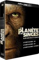 """Coffret """"La planète des singes"""" édition steelbook (blu-ray)"""