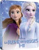 La reine des neiges I & II édition steelbook (blu-ray)