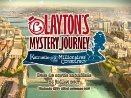 Layton's Mystery Journey : Katrielle and the Millionnaires' Conspiracy (3DS)