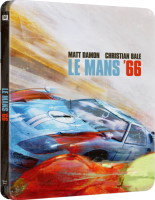 Le Mans 66 édition steelbook (blu-ray 4K)