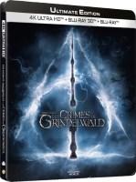 Les Animaux fantastiques 2 : Les Crimes de Grindelwald édition steelbook (blu-ray 4K)