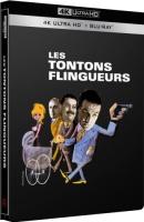 Les tontons flingueurs édition steelbook (blu-ray 4K)