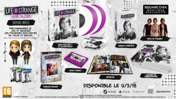 Life is Strange : Before the Storm édition Vinyle (PS4, Xbox One, PC)