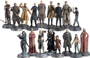 "Lot de 17 Figurines ""Game of Thrones"""