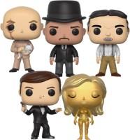 Lot de 5 figurines Funko Pop James Bond