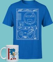 Mug + t-shirt Sega