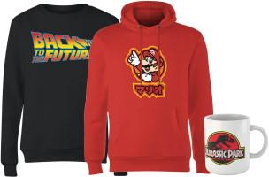 Lot sweat-shirt + hoodie + mug