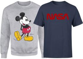 Lot sweat-shirt + t-shirt