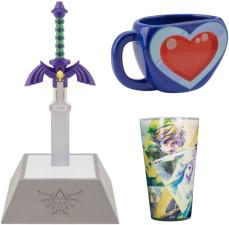 Mug + verre + lampe Zelda