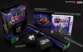 The Legend of Zelda : Majora's Mask édition limitée (3DS)