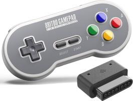 Manette sans fil pour Super Nintendo