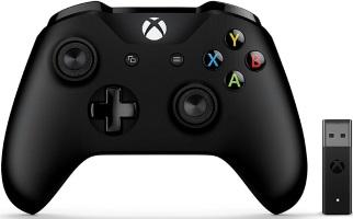 Manette Xbox One + adaptateur sans fil pour PC