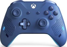 """Manette Xbox One édition spéciale """"Sport Blue"""""""