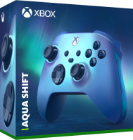 Manette sans fil Xbox Series Aqua Shift