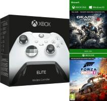Manette Xbox One Elite + Forza Horizon 4 + Gears of War 4