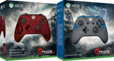 Manettes Xbox One S édition limitée Gears of War 4