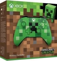 Manette Xbox One édition limitée Minecraft Creep