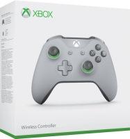 Manette Xbox One grise et verte