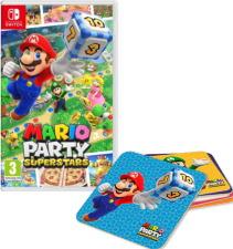Mario Party Superstars (Switch) + dessous de verres offerts