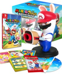 Mario + The lapins crétins : Kingdom Battle édition collector (Switch)