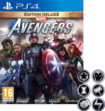 Marvel's Avengers édition Deluxe (PS4) + badges offerts
