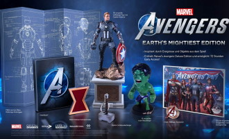 "Marvel's Avengers édition collector ""Earth Mightiest"" (PS4, Xbox One)"