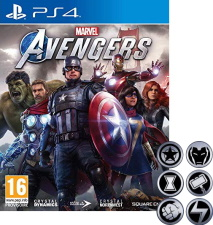 Marvel's Avengers (PS4) + badges
